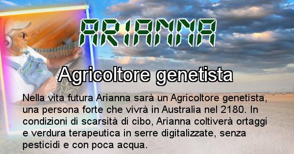 Arianna - Chi sarà nella prossima vita Arianna