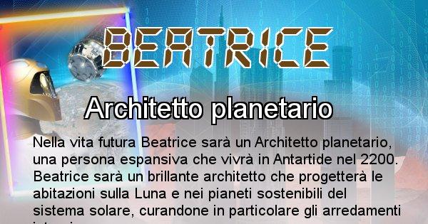 Beatrice - Chi sarà nella prossima vita Beatrice