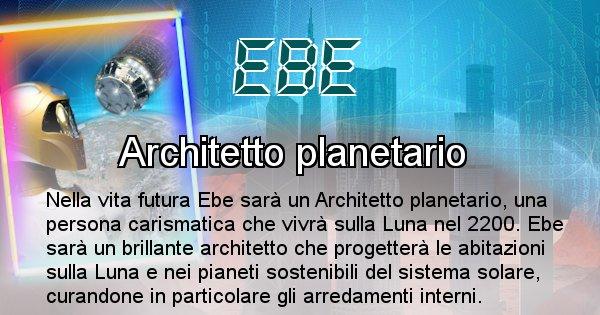Ebe - Chi sarà nella prossima vita Ebe