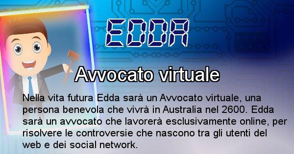Edda - Chi sarà nella prossima vita Edda