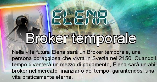 Elena - Chi sarà nella prossima vita Elena