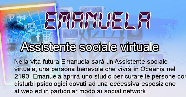 Emanuela - Chi sarà nella prossima vita Emanuela