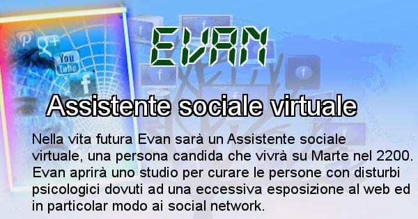 Evan - Chi sarà nella prossima vita Evan