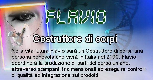Flavio - Chi sarà nella prossima vita Flavio