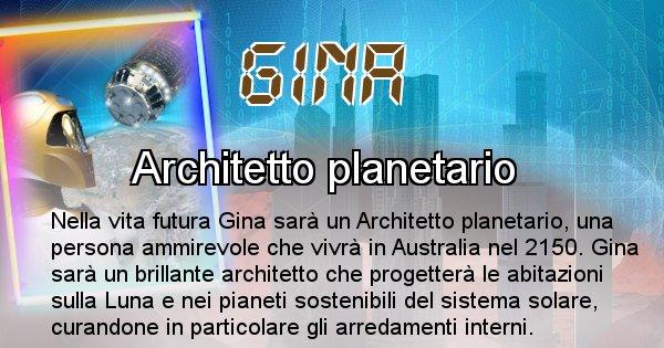 Gina - Chi sarà nella prossima vita Gina
