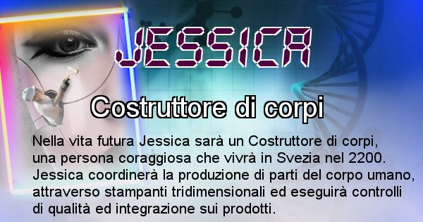 Jessica - Chi sarà nella prossima vita Jessica