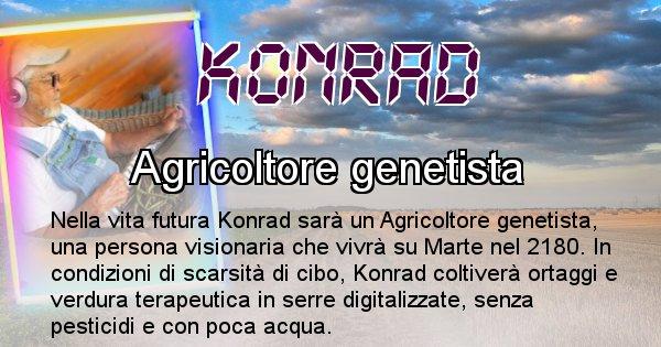 Konrad - Chi sarà nella prossima vita Konrad