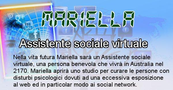 Mariella - Chi sarà nella prossima vita Mariella