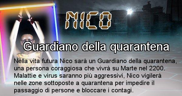 Nico - Chi sarà nella prossima vita Nico