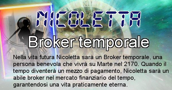 Nicoletta - Chi sarà nella prossima vita Nicoletta