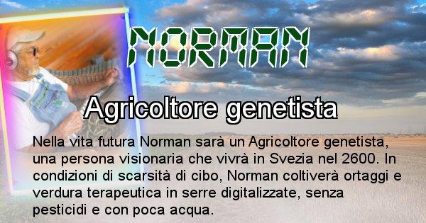 Norman - Chi sarà nella prossima vita Norman