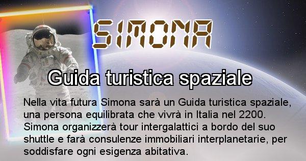 Simona - Chi sarà nella prossima vita Simona