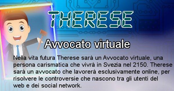 Therese - Chi sarà nella prossima vita Therese