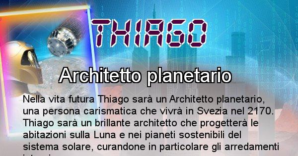 Thiago - Chi sarà nella prossima vita Thiago
