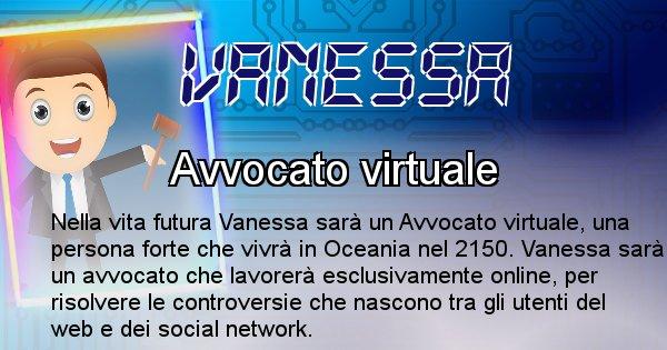 Vanessa - Chi sarà nella prossima vita Vanessa