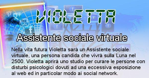 Violetta - Chi sarà nella prossima vita Violetta