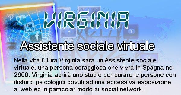 Virginia - Chi sarà nella prossima vita Virginia