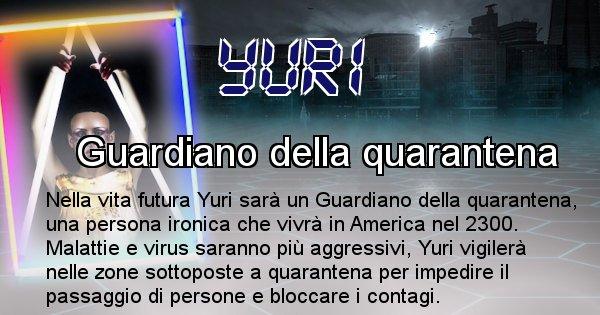 Yuri - Chi sarà nella prossima vita Yuri