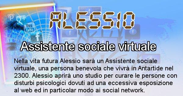 Alessio - Scopri chi sarai nella prossima vita analizzando il Cognome Alessio