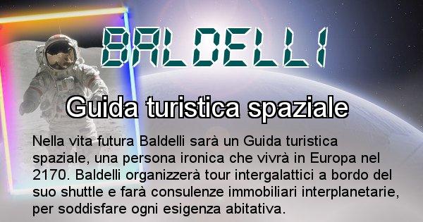 Baldelli - Scopri chi sarai nella prossima vita analizzando il Cognome Baldelli