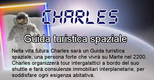 Charles - Scopri chi sarai nella prossima vita analizzando il Cognome Charles
