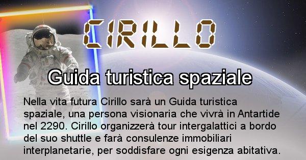 Cirillo - Scopri chi sarai nella prossima vita analizzando il Cognome Cirillo