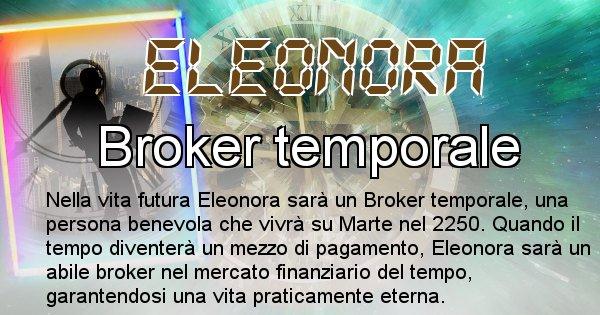 Eleonora - Scopri chi sarai nella prossima vita analizzando il Cognome Eleonora