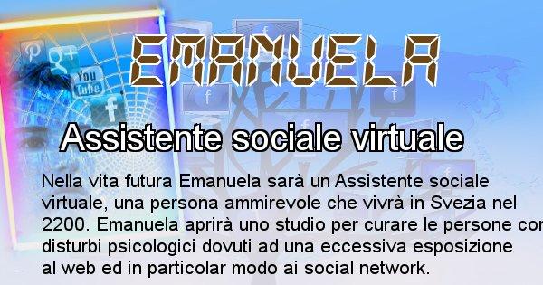 Emanuela - Scopri chi sarai nella prossima vita analizzando il Cognome Emanuela