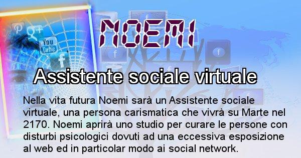 Noemi - Scopri chi sarai nella prossima vita analizzando il Cognome Noemi