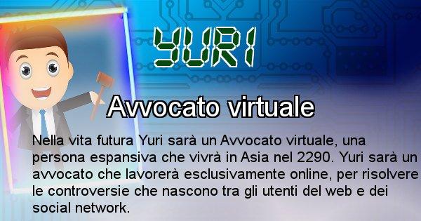 Yuri - Scopri chi sarai nella prossima vita analizzando il Cognome Yuri