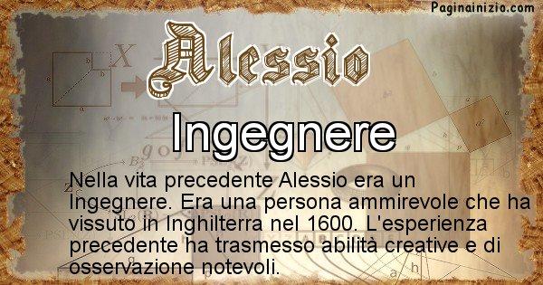 Alessio - Chi era nella vita precedente Alessio