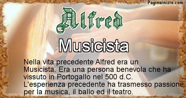 Alfred - Chi era nella vita precedente Alfred