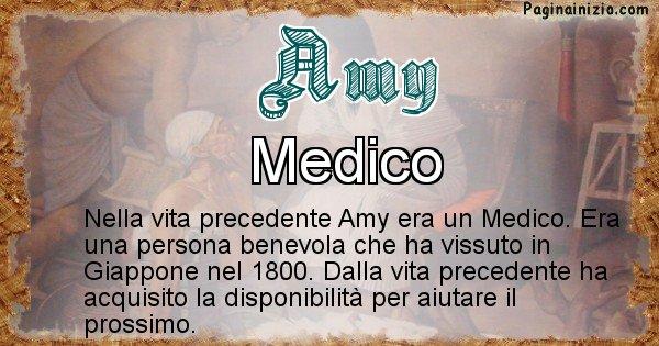 Amy - Chi era nella vita precedente Amy