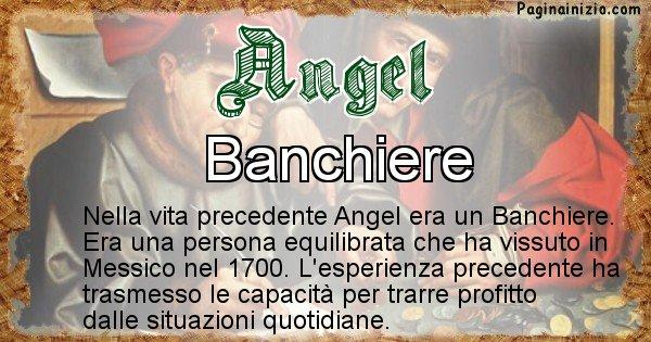 Angel - Chi era nella vita precedente Angel
