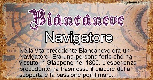 Biancaneve - Chi era nella vita precedente Biancaneve