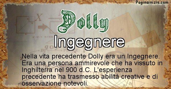 Dolly - Chi era nella vita precedente Dolly