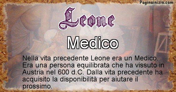 Leone - Chi era nella vita precedente Leone