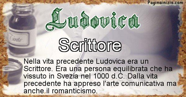 Ludovica - Chi era nella vita precedente Ludovica
