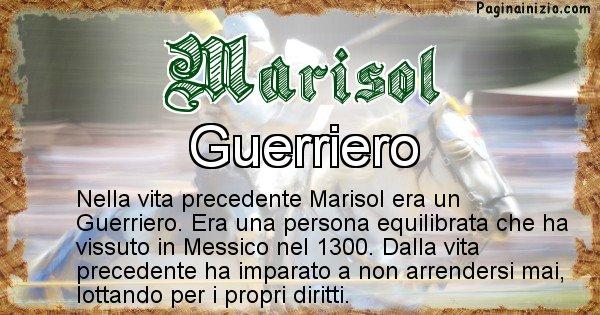 Marisol - Chi era nella vita precedente Marisol
