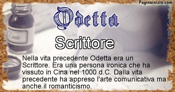 Odetta - Chi era nella vita precedente Odetta