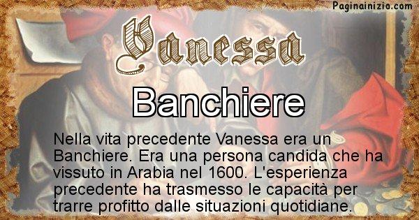 Vanessa - Chi era nella vita precedente Vanessa