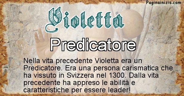 Violetta - Chi era nella vita precedente Violetta