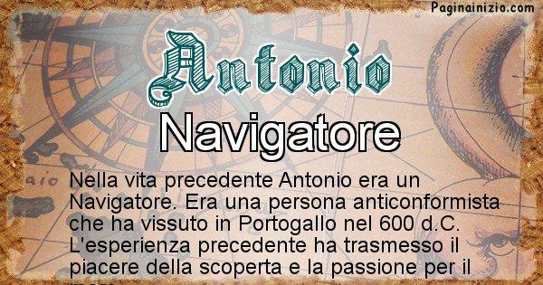 Antonio - Vita precedente analizzando il cognome Antonio