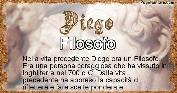 Diego - Vita precedente analizzando il cognome Diego