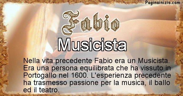 Fabio - Vita precedente analizzando il cognome Fabio