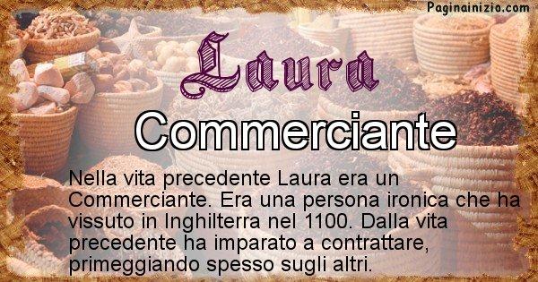 Laura - Vita precedente analizzando il cognome Laura