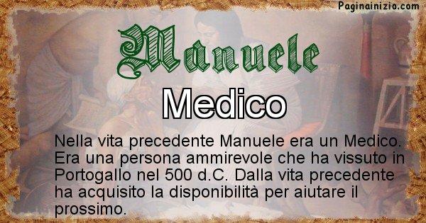 Manuele - Vita precedente analizzando il cognome Manuele