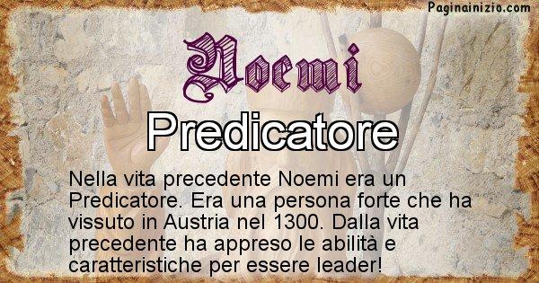 Noemi - Vita precedente analizzando il cognome Noemi