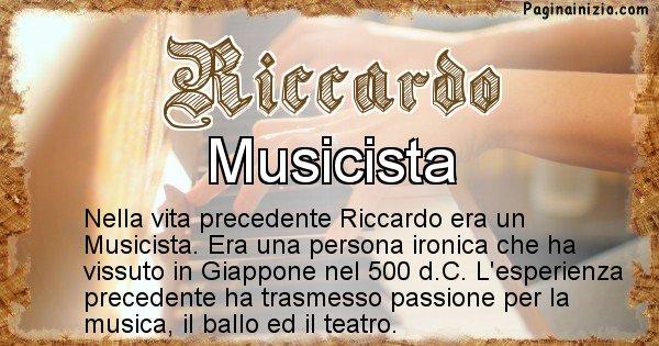 Riccardo - Vita precedente analizzando il cognome Riccardo