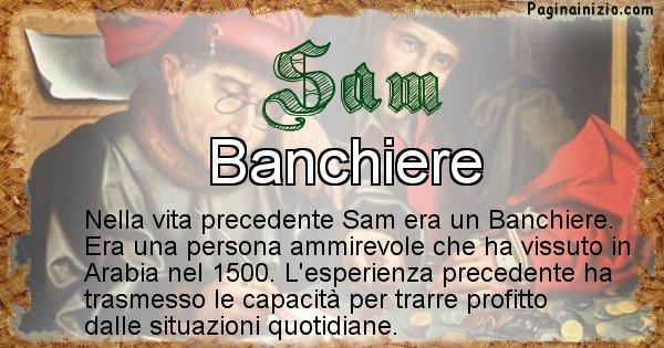 Sam - Vita precedente analizzando il cognome Sam